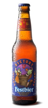 Victory Brewing Company Festbier, one of our Top Oktoberfest Beers