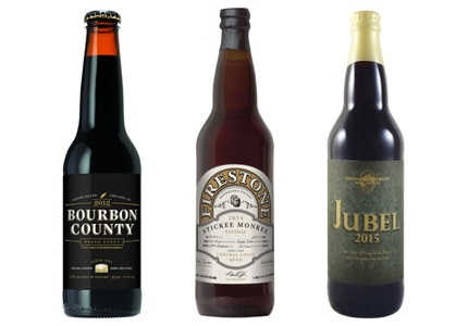 GAYOT's Top 10 Sipping Beers include rich stouts, Belgian-style ales, special-release strong ales and more
