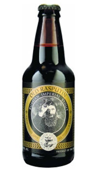 A bottle of North Coast Brewing Company Old Rasputin