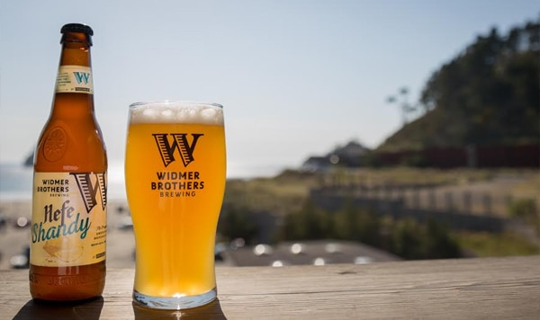 Widmer Brothers Hefe Shandy is made with homemade natural lemonade flavoring