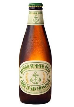Anchor Summer Beer American Wheat Beer, one of our Top Summer Beers