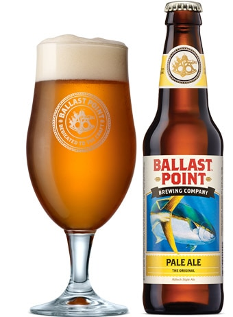Ballast Point Pale Ale is actually a Kolsch, a beer style originating in Cologne, Germany