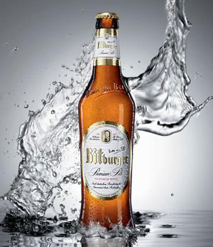 Bitburger Premium Pils, a north German Pilsner on our list of the Top Summer Beers