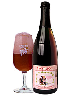 Cantillon Rose de Gambrinus, one of our Top Summer Beers