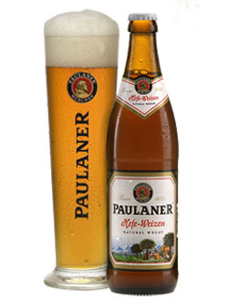 Paulaner Hefe-Weizen, one of our Top Summer Beers