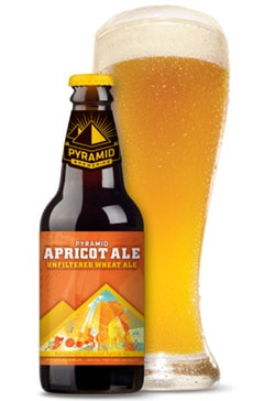 Pyramid Apricot Ale, one of our Top Summer Beers