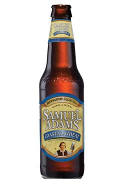 Sam Adams Coastal Wheat, one of our Top Summer Beers