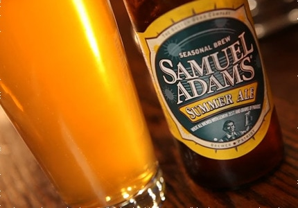 Samuel Adams Summer Ale, one of GAYOT's Top 10 Summer Beers