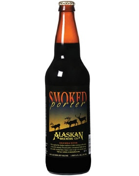 Alaskan Brewing Company Smoked Porter, a smoked black beer on our list of the Top Summer Beers