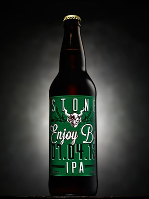 Stone Brewing Company Enjoy By IPA is shipped the same day it's bottled and arrives on shelves within one week