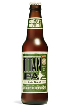 Great Divide Titan India Pale Ale, one of our Top Summer Beers