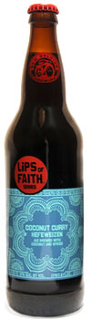 Lips of Faith Coconut Curry Hefeweizen is a great match for a spicy meal