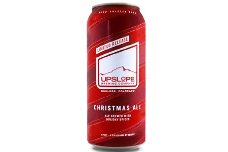 Upslope Brewing Company Christmas Ale started out as a homebrewed beer