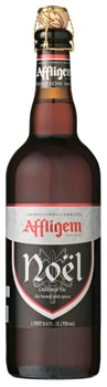 Affligem Noël Christmas Ale boasts seasonal aromas of cocoa and clove