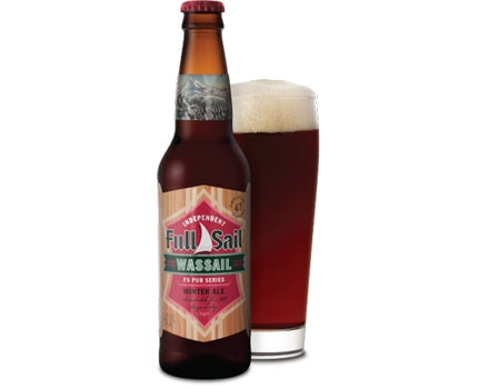 Smooth caramel and dark chocolate notes make Full Sail Brewing Company's Wassail Winter Ale a seasonal standout