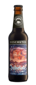 The 2015 Deschutes Jubelale label was created by artist Taylor Rose