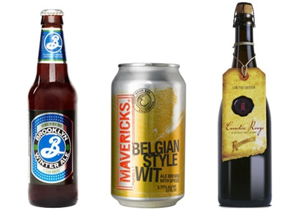 Selections from Brooklyn Brewery, Mavericks and Brouwerij Rodenbach are all on GAYOT's list of the Top 10 Winter Beers