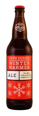 No-Li Brewhouse's Winter Warmer spices up the holidays with local barley and a compelling selection of hops