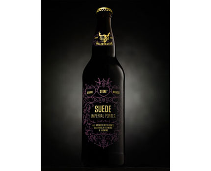 Surprisingly, ingredients indigenous to Southern California make Stone's Suede Imperial Porter a satisfying winter beer