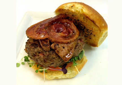 What goes into the $250 Indulgence Burger? Read GAYOT's blog to find out