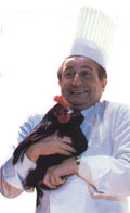 Chef Michel Guerard was instrumental in promoting the healthier food of Nouvelle Cuisine