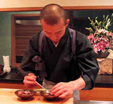 Chef Urasawa of Urasawa in Los Angeles