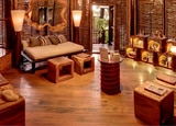 The Rainforest Spa at Sugar Beach features private rainforest cabanas as treatment rooms