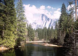 Yosemite National Park in California is a vibrant display of nature
