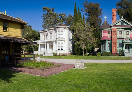 Discover more of the history of Southern California at the Heritage Square Museum