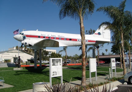 The Museum of Flying at Santa Monica Airport