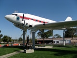 Museum of Flying at Santa Monica Airport in California