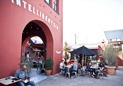 Hipster haven Intelligentsia in L.A. neighborhood Silver Lake