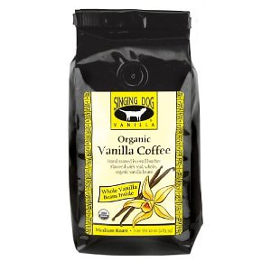 Singing Dog Vanilla Coffee is named for the rare New Guinea Singing Dog
