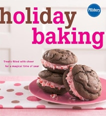 "Learn to make ""Treats Filled with Cheer for a Magical Time of Year"" with Holiday Baking by The Pillsbury Editors"