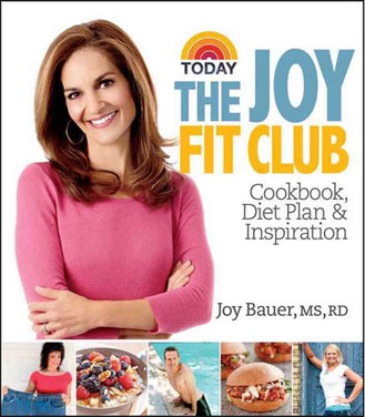 "Joy Bauer guides readers to healthy eating through ""The Joy Fit Club"""