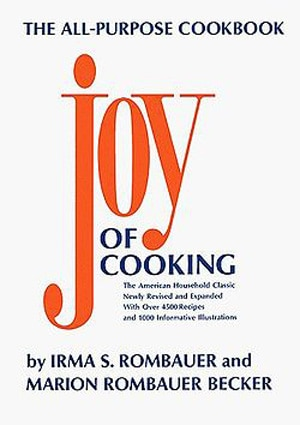 Irma S. Rombauer's Joy of Cooking, one of GAYOT's Top 10 Cookbooks