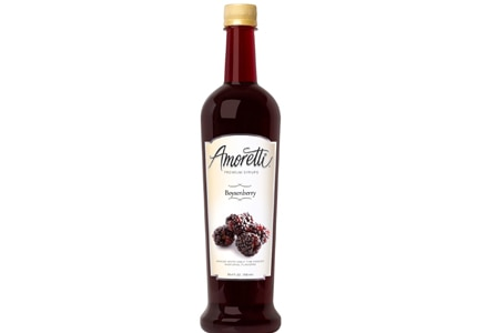 Use Amoretti Flavored Syrups to make quality gourmet creations