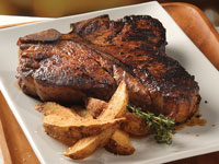 A Certified Angus Beef porterhouse steak