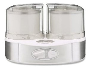The Cuisinart ICE-40 Flavor Duo Frozen Yogurt-Ice Cream & Sorbet Maker