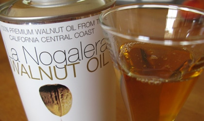 Add more nutty flavor to your baked goods with La Nogalera Walnut Oil