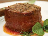 Filet Mignon, the leanest and most tender cut of beef, from Certified Piedmontese