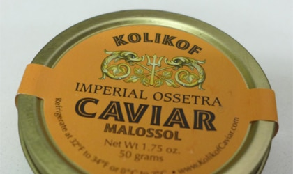 Ossetra caviar offers flavors that range from creamy to nutty
