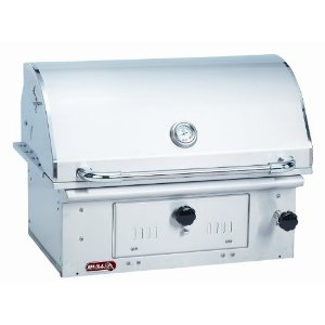 The Bull Outdoor Products Bison Stainless Steel Grill Head, one of GAYOT's Top 10 Barbecue Grills