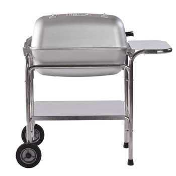 Portable Kitchen PK 99740 Cast Aluminum Grill and Smoker is handmade in the USA, with its original 1952 styling and features