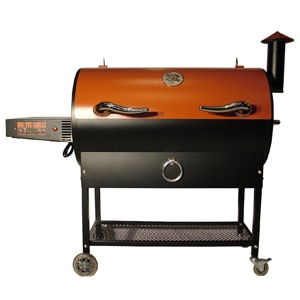 The REC TEC Wood Pellet Grill, one of GAYOT's Top 10 Barbecue Grills