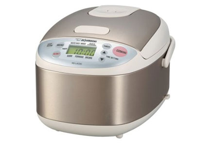 The Zojirushi Rice Cooker, one of GAYOT's Top 10 Kitchen Gadgets