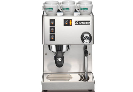 Rancilio's Silvia Version 3 Espresso Machine comes with a commercial-grade steam wand
