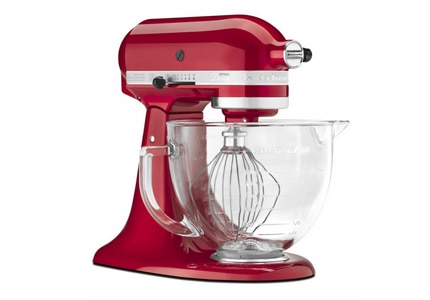 The Kitchenaid Artisan Series 5-Quart Mixer, one of GAYOT's Top 10 Thanksgiving Cooking Tools 2014