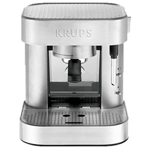 Designed in Switzerland, the KRUPS XP601050 has three espresso functions and a hyper-efficient frother