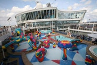Play space for children on Allure of the Seas
